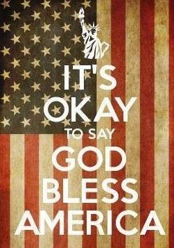 It S Okay To Say God Bless America Lutheran Church Of The Cross